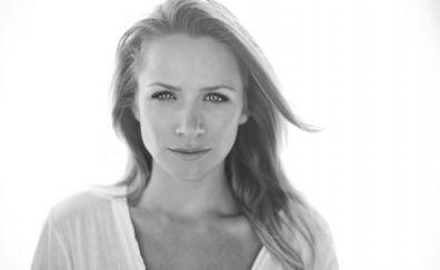 Lovely Shantel Vansanten, model, monochrome