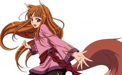 Spice and wolf horo girl fox