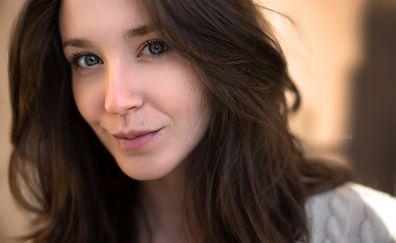 Lorenza, model, brunette
