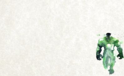 Hulk, minimal artwork