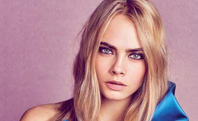 Blonde, model, Cara Delevingne