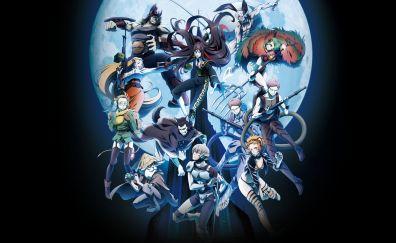 Juni Taisen, anime, characters
