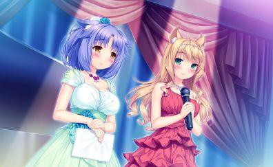 Maple, cinnamon, Nekopara, anime girls