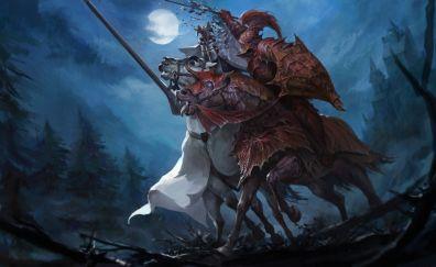 Total War: Warhammer II, warrior, dark, fight