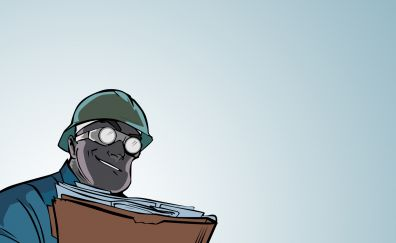 Team fortress 2, video game, Engineer