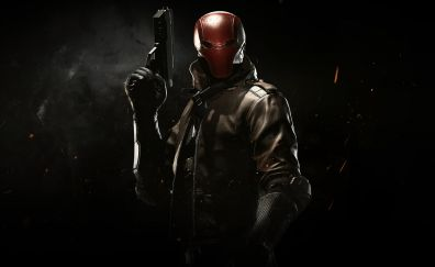 Red hood, video game, injustice 2