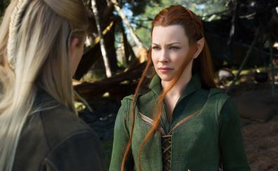 The Hobbit: An Unexpected Journey, Evangeline Lilly, 2012 movie