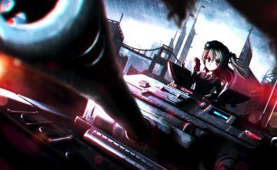 Alice Shimada, Girls und Panzer, anime girl, tank