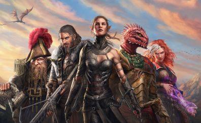Divinity: Original Sin II, 2017 game, artwork, 5k