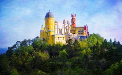 Pena Palace, castle, architecture