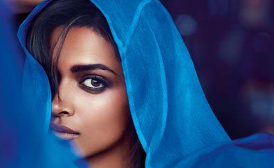 Deepika padukone, celebrity, face, 2017