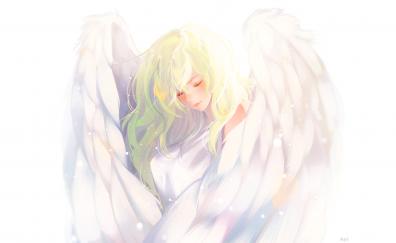 Angle, anime girl