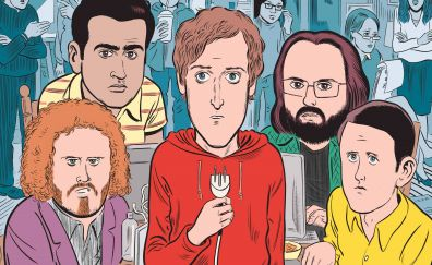 Silicon valley, tv series, casts, fan art