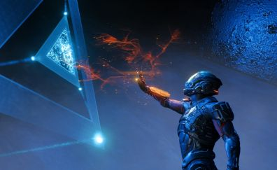 Mass Effect: Andromeda, soldier and dice