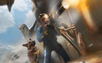 Sole Survivor, Fallout 4, video game, 2015