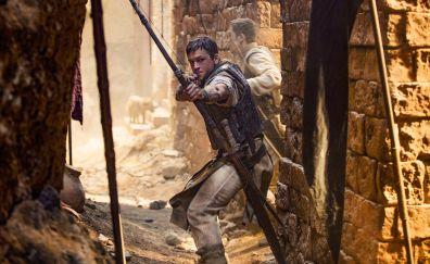 Taron Egerton, Robin Hood, 2018, movie