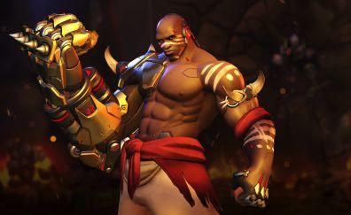 Doomfist, overwatch, online game, fighter