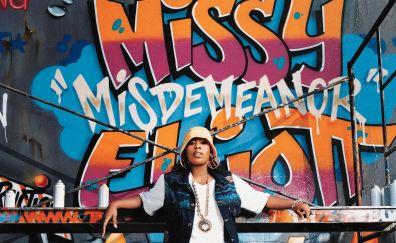 Missy Elliott, celebrity, Graffiti