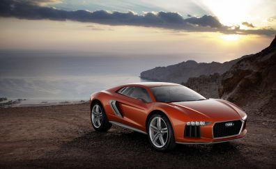 Audi Nanuk Quattro Concept Orange car