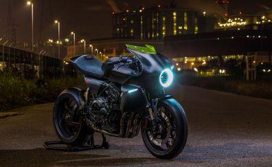 Honda CB4 Interceptor, concept motorcycle, bike, 4k