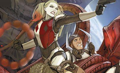 Captain boomerang, harley quinn, suicide squad, comics