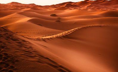 Morocco, desert, sand, dunes, 5k