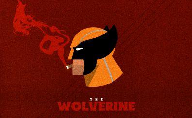 The wolverine, superhero, x-men, artwork