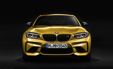 2018 car, BMW M2, front view
