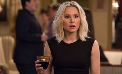 Still from tv show, the good place, actress, celebrity, Kristen Bell