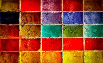 Painting, color, powder, colorful
