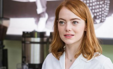 Red head, popular actress, Emma Stone