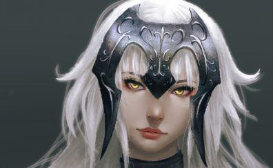 Jeanne d'arc, fate series, face, anime