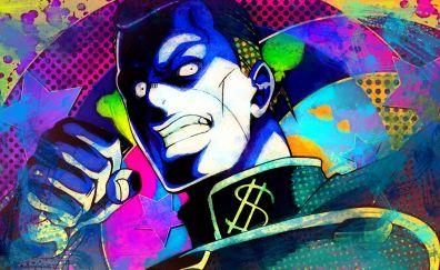 Okuyasu Nijimura, JoJo's Bizarre, angry, anime boy