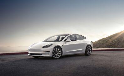 Tesla Model 3, luxury car, 2017