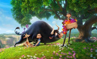 Ferdinand, blue sky studios, animated movie, 4k