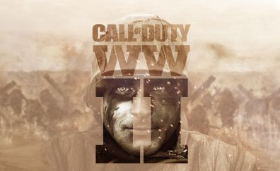 Video game, poster, Call of Duty: WWII, 2017