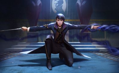 Emily Kaldwin, Dishonored 2, video game, warrior