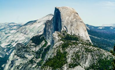Half dome of Yosemite national park