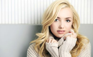 Peyton List, beautiful, actress, 4k