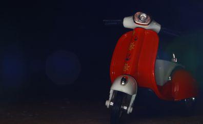 Toy, figure, vespa, scooter