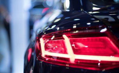 Audi car, taillights