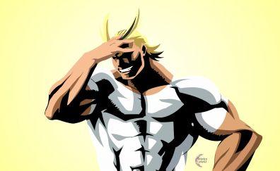 Blonde anime, All Might, Boku no Hero Academia