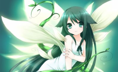 Saya, Saya no Uta, anime girl, wings