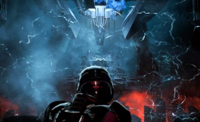 Mass Effect: Andromeda Archon, video game, dark
