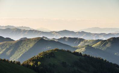 Wasatch mountains, nature, horizon