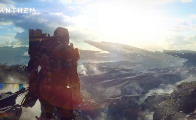 Anthem, video game, landscape, soldier