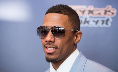 Nick Cannon, celebrity, suit, sunglasses