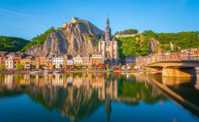 Dinant city of belgium