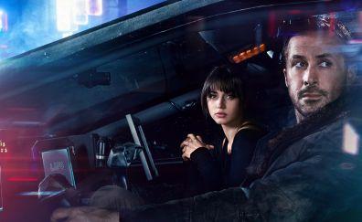 Blade Runner 2049, Ana De Armas, Ryan Gosling, 4k