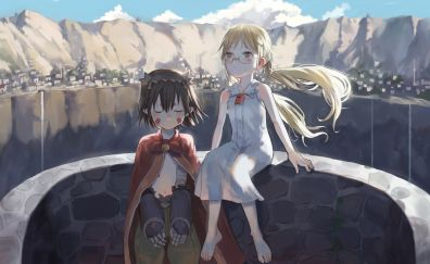 Riko and Regu, Made in Abyss, anime